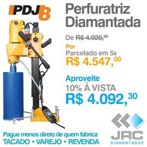 Perfuratriz Diamantada PDJ8