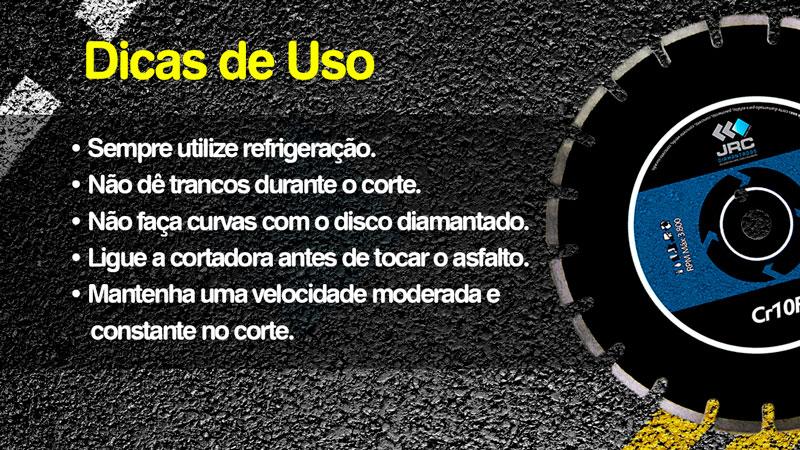 Disco Diamantado 350mm Asfalto